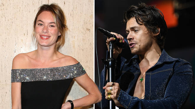 Harry's song 'Cherry' features ex Camille Rowe