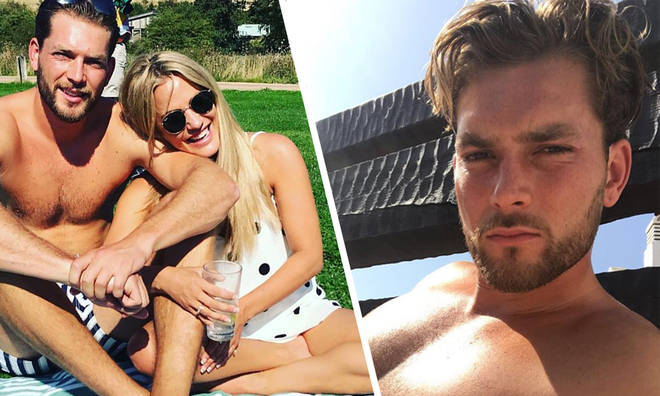 Caroline Flack and Lewis Burton were together for four months before their reported splitC