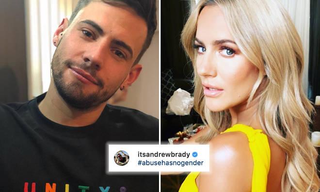 Andrew Brady 'exposes' Caroline Flack
