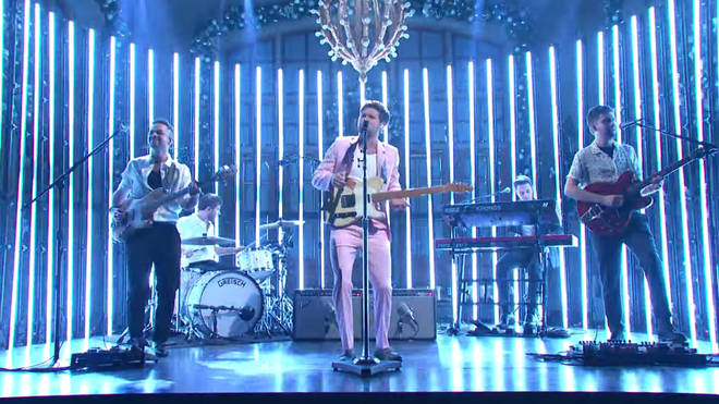 Niall Horan performs on Saturday Night Live