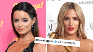 Maura Higgins fuels rumours she's involved in the new series of 'Love Island'