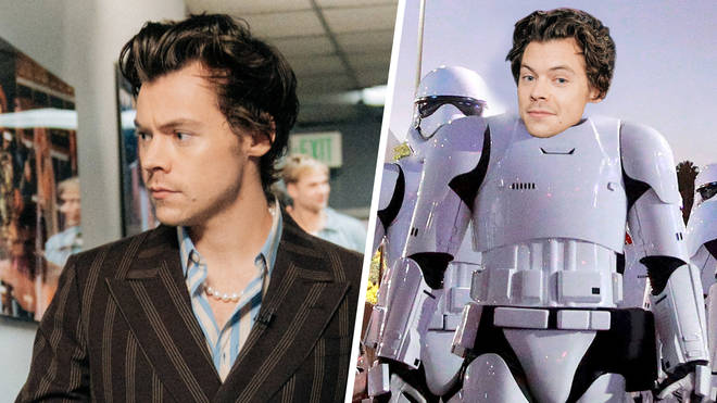 Is Harry Styles in the new Star Wars movie?