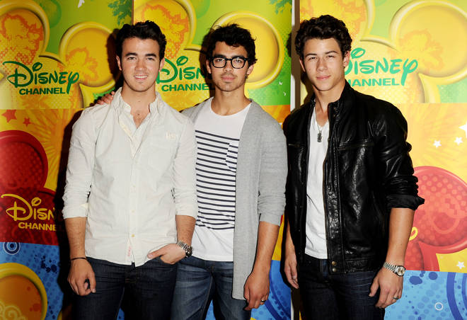 Jonas Brothers at the start of the decade