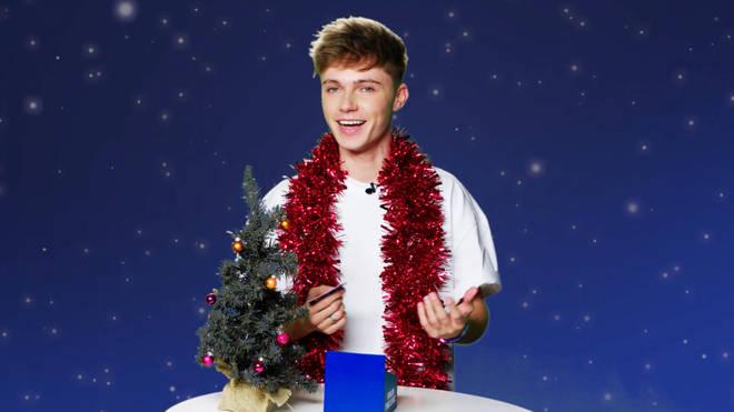 HRVY on 'Finish The Lyric' Christmas Edition