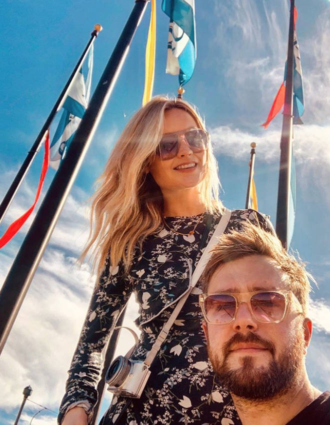 Laura Whitmore and Iain Stirling have been dating for two years