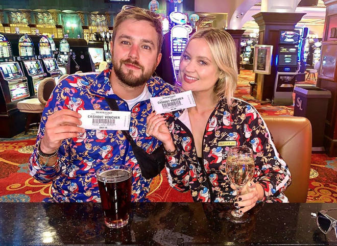 Laura Whitmore and Iain Stirling keep their relationship private