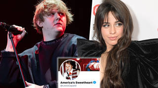 Lewis Capaldi feared Camila Cabello's fame would overshadow his song