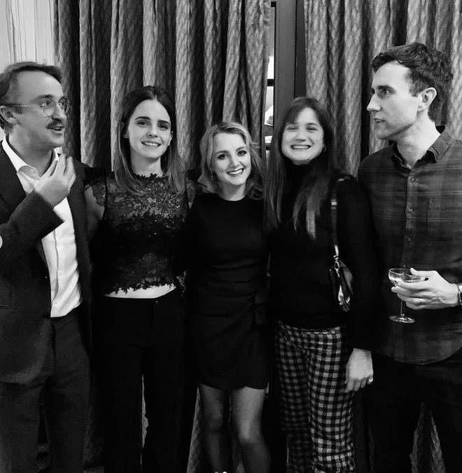 The Harry Potter cast reunited