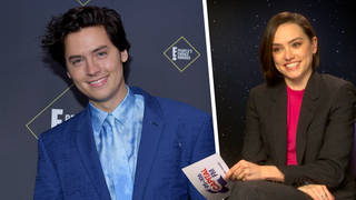 Daisy Ridley responded to comparisons to Cole Sprouse