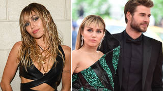 Miley Cyrus took a swipe at her marriage to Liam Hemsworth