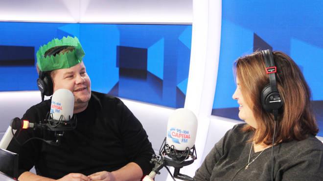 James Corden and Ruth Jones Christmas show