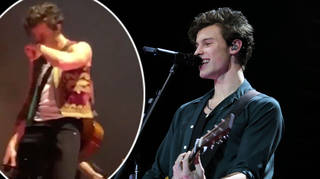 Shawn Mendes broke down on stage in Mexico City