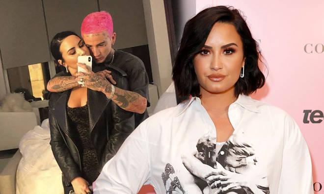 Demi Lovato has split from Austin Wilson