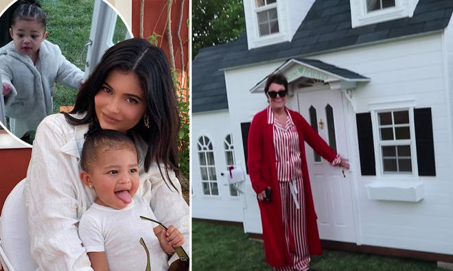 Kris Jenner gifted Stormi her own playhouse