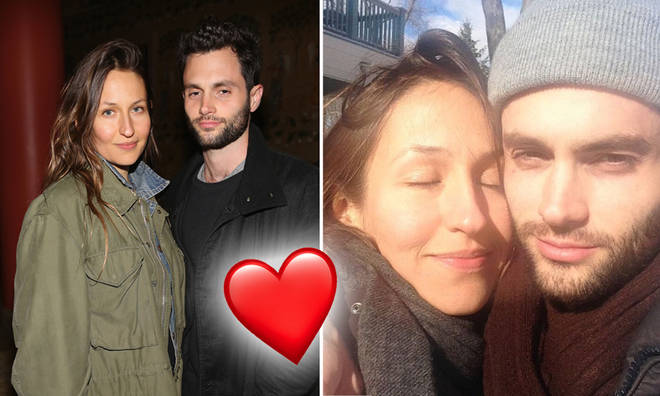 Penn Badgley and wife Domino Kirke married in 2017