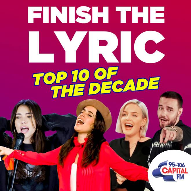 Finish The Lyric decade