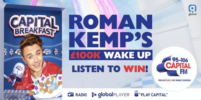 Roman Kemp's £100K Wake Up