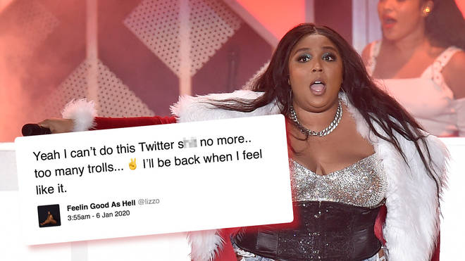Lizzo has left Twitter after the abuse she's received online