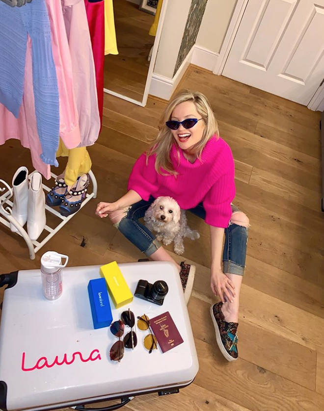 Laura Whitmore is flying to South Africa