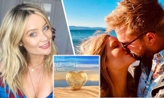 Laura Whitmore 'couldn't let' Iain Stirling fly off to South Africa without her!