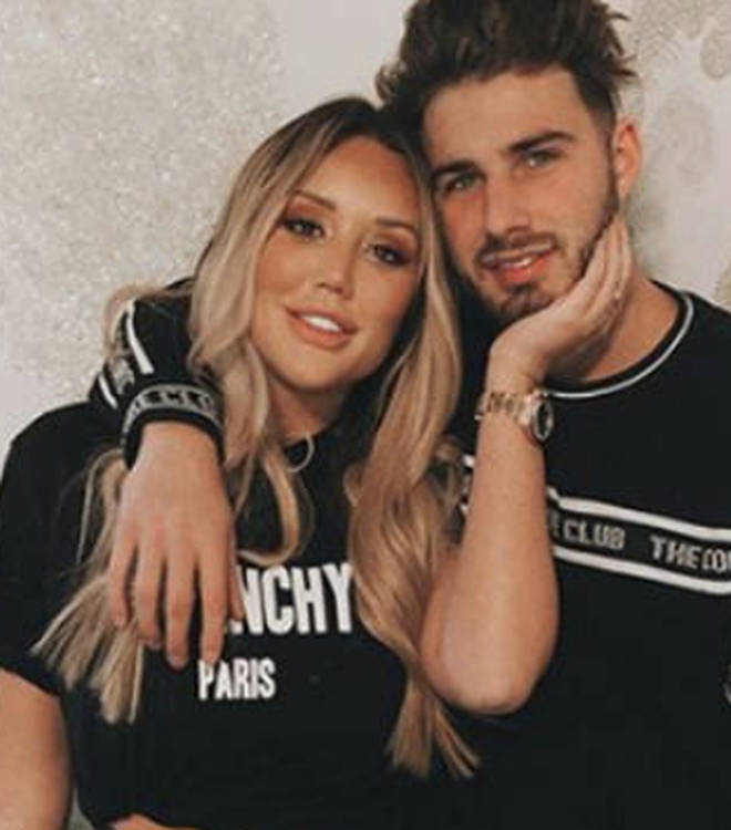 Charlotte Crosby opened up about her split from Joshua Ritchie