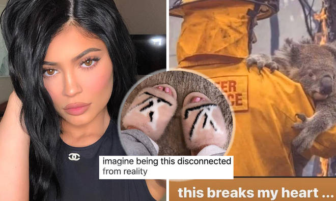 Kylie Jenner wore fur shoes moments after saying she's 'heartbroken' for Australian animals