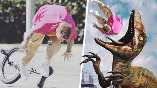 Justin Bieber has become a meme after falling off his bike