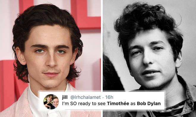 Timothée Chalamet set to play Bob Dylan in biopic