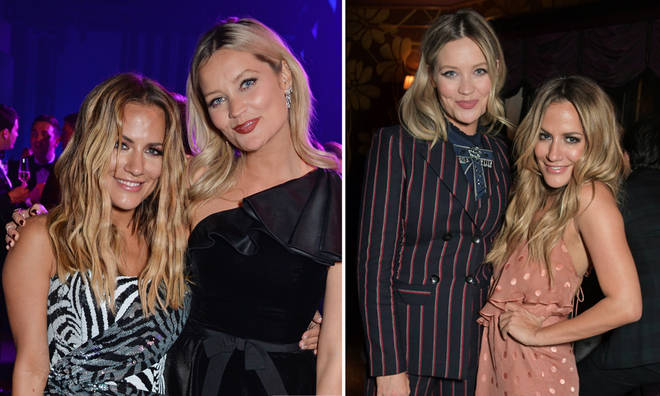 Caroline Flack and Laura Whitmore were friends away from the TV industry