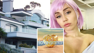 The 'Love Island' villa was used in Miley Cyrus's 'Black Mirror' episode