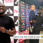 Stormzy did a meet and greet in Birmingham