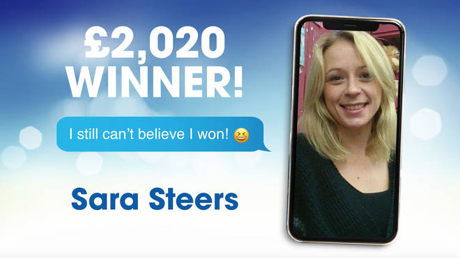 A previous competition winner Sara Steers