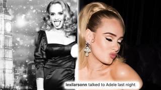Adele's fan said the singer 'seemed so happy'