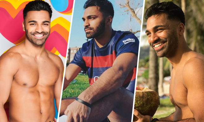 Nas Majeed joins the singletons in the Love Island villa