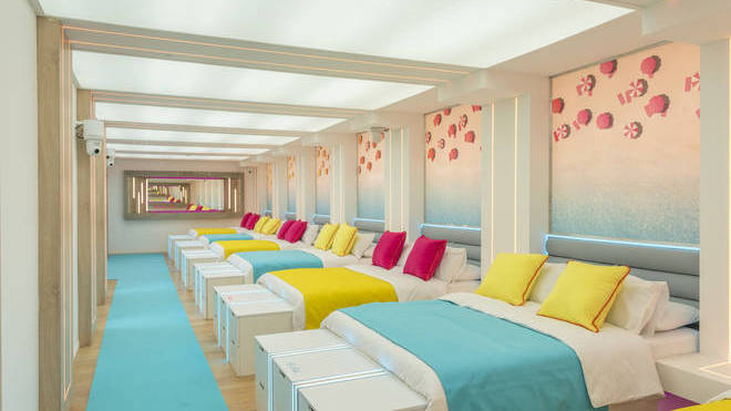 The Love Island villa features seven double beds for the 2020 cast