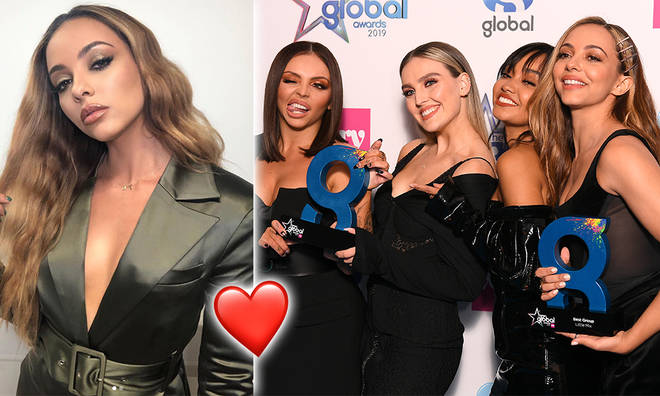 Jade Thirlwall said the girls 'gave each other confidence boosts'