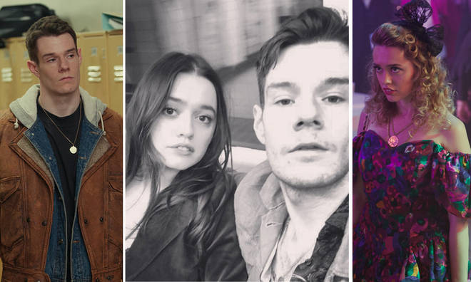 Aimee Lou Wood and Connor Swindells are dating off-screen