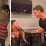 Jonas Brothers recreated Kim Kardashians iconic television scene