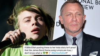 Billie Eilish fans are convinced she's linked to the James Bond theme tune
