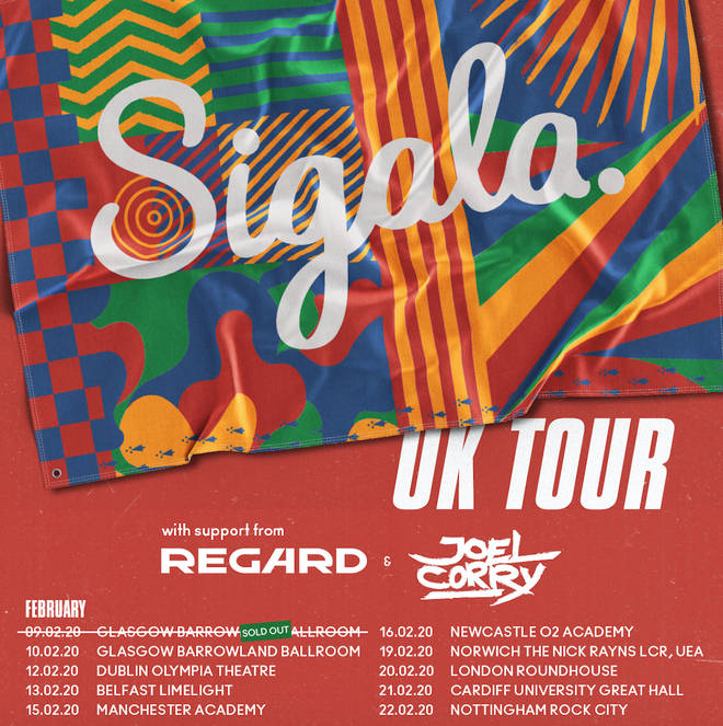Sigala is heading out on a UK tour in 2020