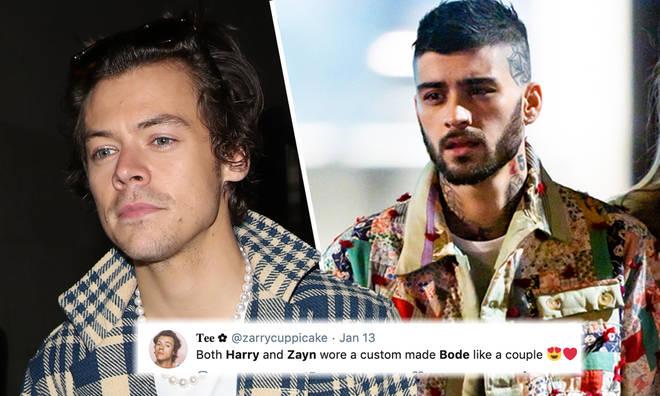 Harry & Zayn rocked the same fashion brand's jackets recently