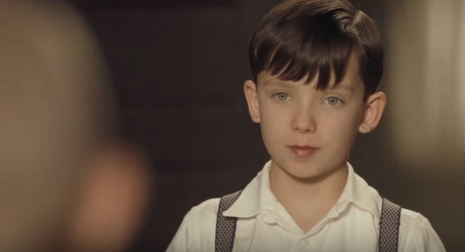 Asa Butterfield in The Boy in the Striped Pyjamas
