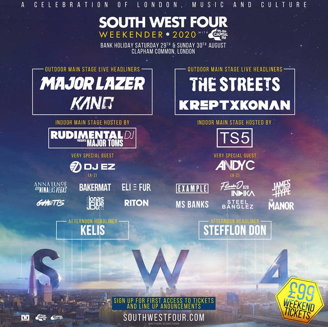 South West Four 2020 full line-up announced