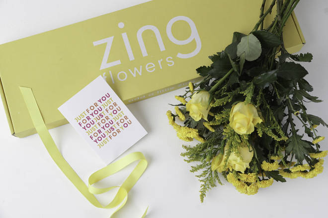 Win a year's supply of Zing Flowers