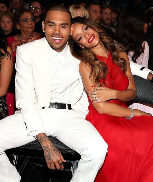 Rihanna começou a namorar Chris Brown em 2007