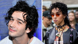 The 1975's Matty Healy and FKA Twigs pictured together