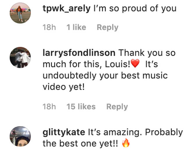 Fans congratulate Louis Tomlinson on his 'best video yet' for 'Walls'