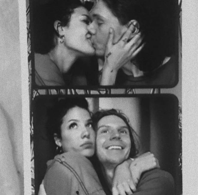 Halsey is currently dating Evan Peters