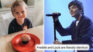 Freddie celebrated his fourth birthday