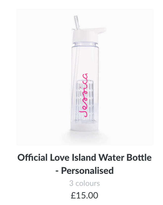 Cop the official Love Island water bottle!